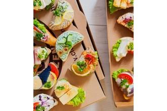 Halas szendvicsbox