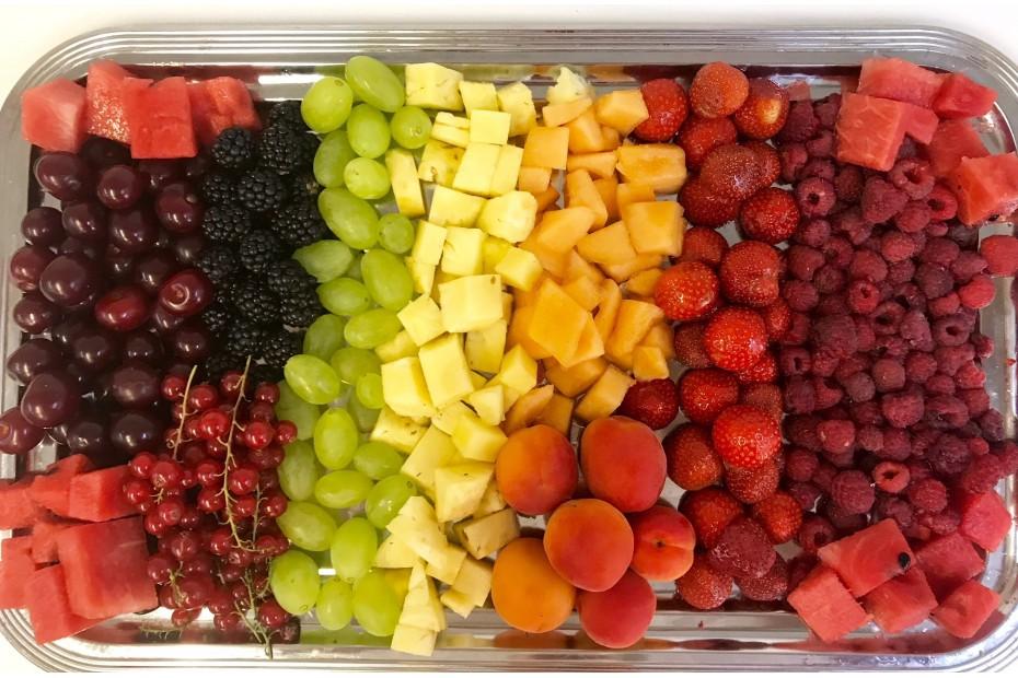 Nyári gyümölcstál (nagy)