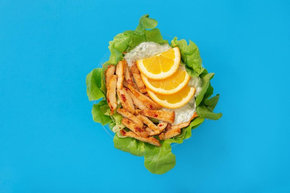 Grillezett csirkemell saláta tzatzikivel