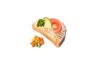 Csirkés franciasalátás szendvics