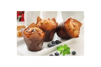 Karamellás-ribizlis muffin