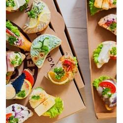 Vegetáriánus szendvicsbox