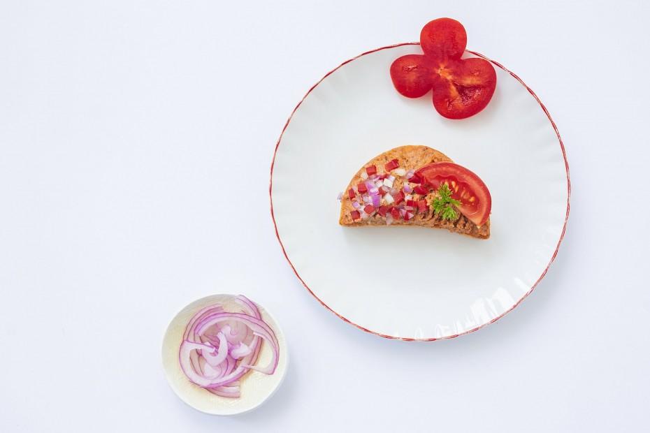 Libatepertőkrémes szendvics