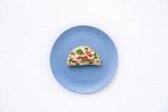 Zellerkrémes szendvics (fokhagymás)