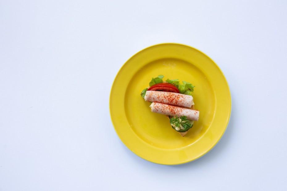 Sonkás szendvics