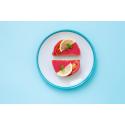 Piros-kaviáros szendvics