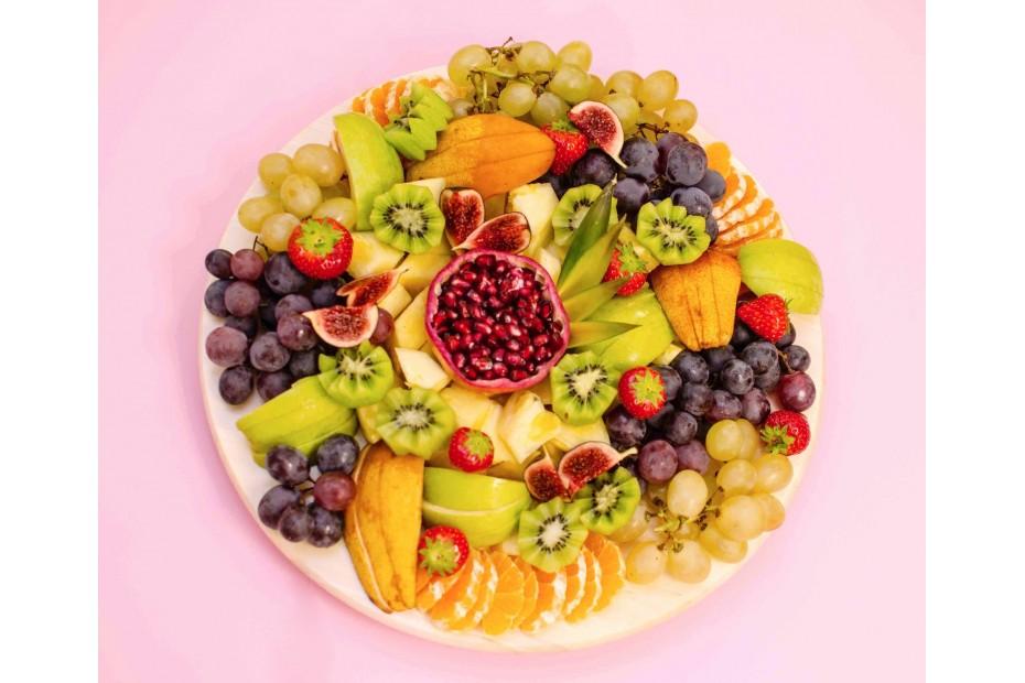 Őszi / Téli gyümölcstál 6 személyre
