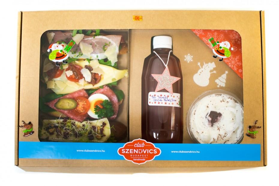 Karácsonyi Gourmet box