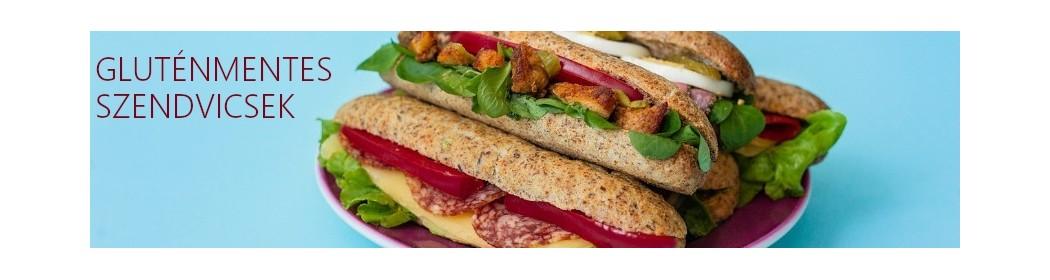 Gluténmentes szendvicsek